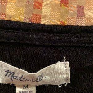 Madewell Tops - Madewell Basic Black Shirt